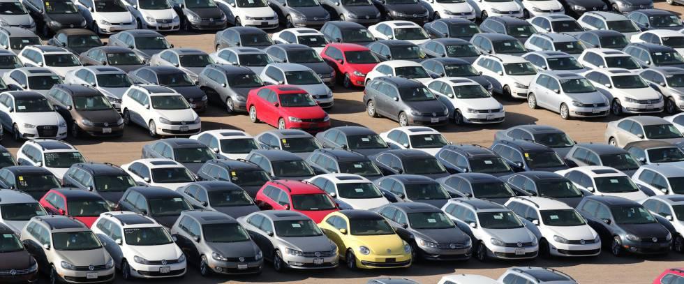Los robots obligan a destruir 293 coches nuevos, algunos de ellos ya tenían dueño.