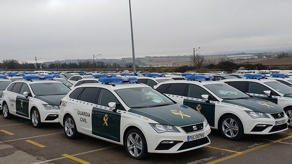 Más de 6 millones en nuevos coches para la Guardia Civil… y todos con motor diésel